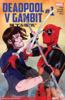 "Deadpool V Gambit: The ""V"" Is For ""Vs."" - Full Set of 5 Comics"